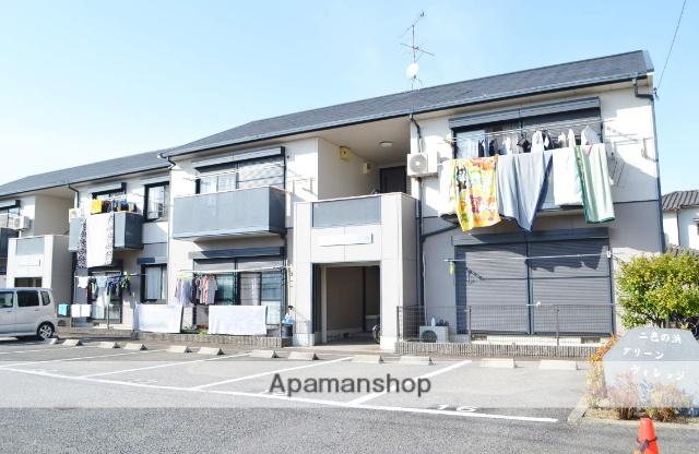 大阪府貝塚市、貝塚駅徒歩27分の築20年 2階建の賃貸アパート