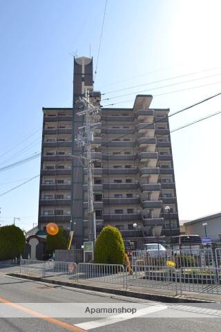 大阪府泉佐野市、熊取駅徒歩25分の築21年 10階建の賃貸マンション