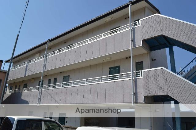 大阪府泉南市、新家駅徒歩30分の築19年 3階建の賃貸マンション