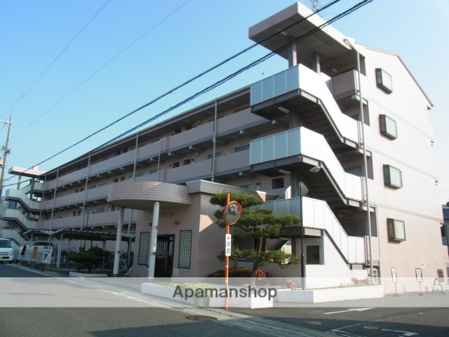 大阪府阪南市、和泉鳥取駅徒歩7分の築22年 4階建の賃貸マンション