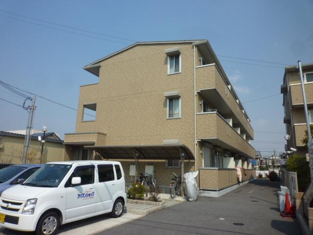 大阪府堺市西区、津久野駅徒歩20分の築8年 3階建の賃貸アパート
