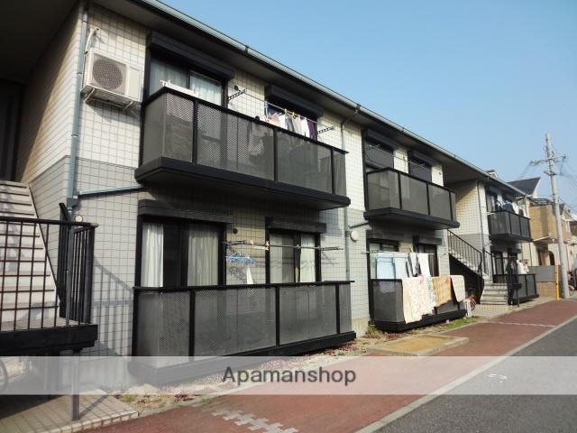 大阪府泉大津市、和泉府中駅徒歩24分の築22年 2階建の賃貸アパート