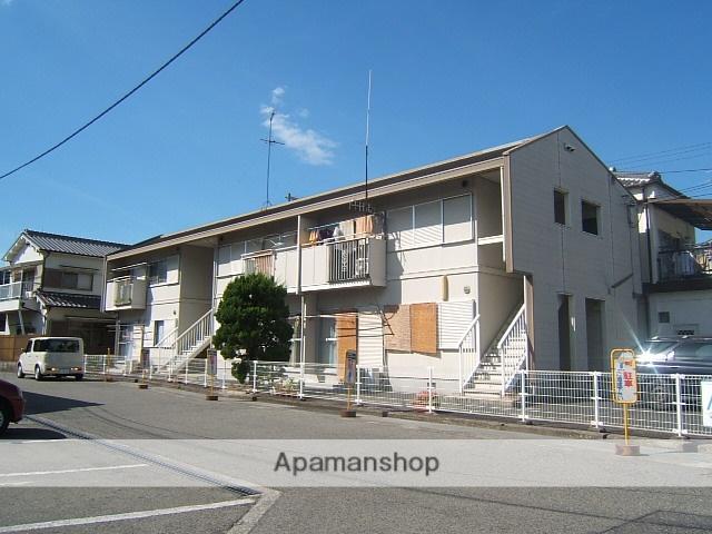 大阪府和泉市、北信太駅徒歩26分の築28年 2階建の賃貸アパート
