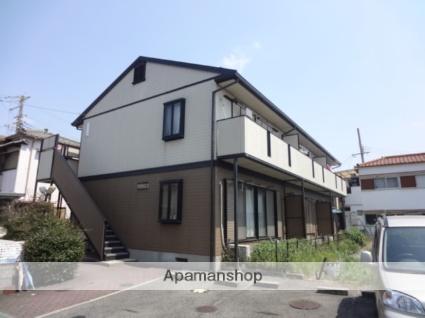 大阪府和泉市、信太山駅徒歩16分の築22年 2階建の賃貸アパート