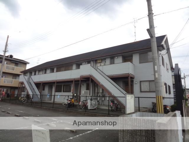 大阪府高石市、北信太駅徒歩15分の築24年 2階建の賃貸アパート
