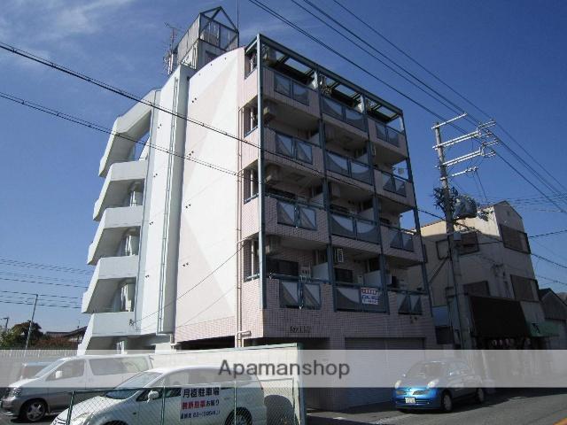 大阪府貝塚市、石才駅徒歩1分の築26年 5階建の賃貸マンション