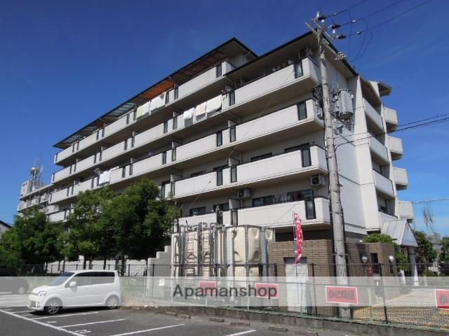 大阪府岸和田市、東岸和田駅徒歩17分の築23年 6階建の賃貸マンション