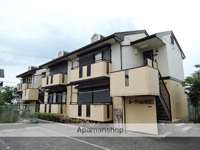 大阪府岸和田市、東岸和田駅徒歩13分の築20年 2階建の賃貸アパート