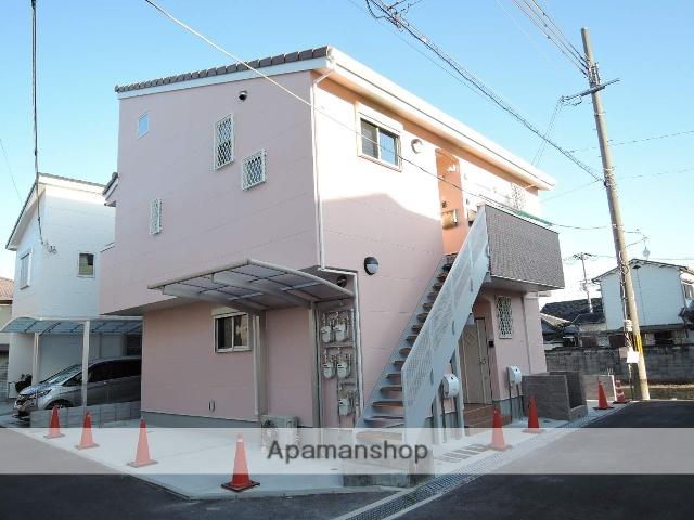 大阪府岸和田市、久米田駅徒歩6分の新築 2階建の賃貸アパート