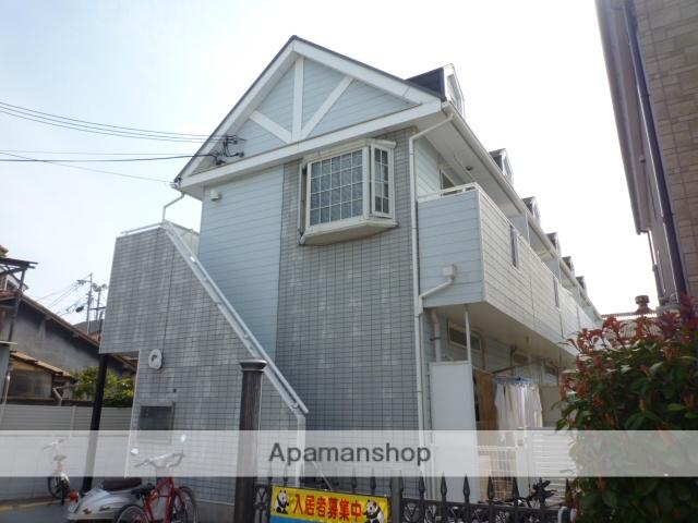 大阪府岸和田市、久米田駅徒歩19分の築27年 2階建の賃貸アパート
