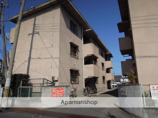 大阪府泉北郡忠岡町、忠岡駅徒歩14分の築44年 3階建の賃貸マンション