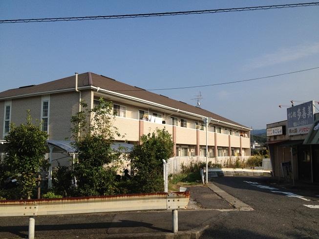 大阪府貝塚市、三ツ松駅徒歩14分の築10年 2階建の賃貸アパート