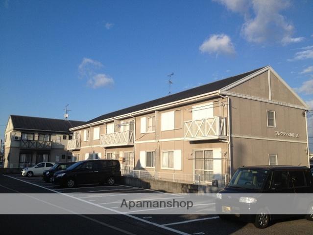大阪府阪南市、和泉鳥取駅徒歩15分の築26年 2階建の賃貸アパート