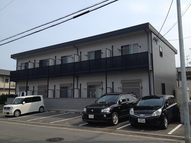 大阪府貝塚市、貝塚市役所前駅徒歩8分の築11年 2階建の賃貸アパート