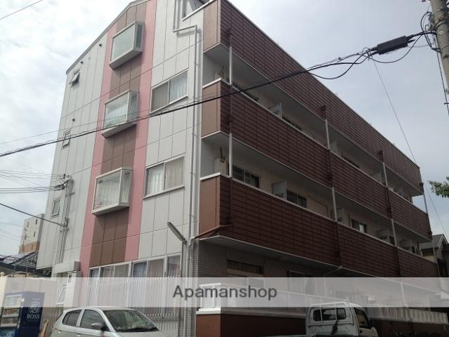 大阪府泉佐野市、二色浜駅徒歩15分の築25年 4階建の賃貸マンション
