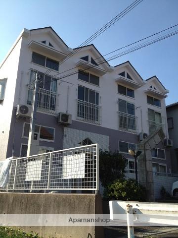 大阪府泉南郡熊取町、熊取駅バス11分若葉下車後徒歩8分の築27年 2階建の賃貸アパート