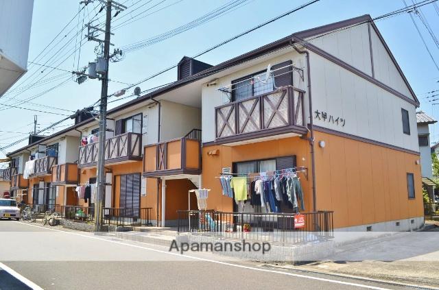 大阪府貝塚市、貝塚市役所前駅徒歩5分の築25年 2階建の賃貸アパート