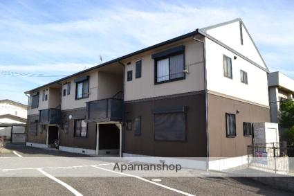 大阪府貝塚市、二色浜駅徒歩16分の築20年 2階建の賃貸アパート