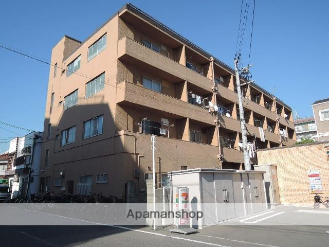 大阪府大阪市住吉区、長居駅徒歩7分の築48年 4階建の賃貸マンション