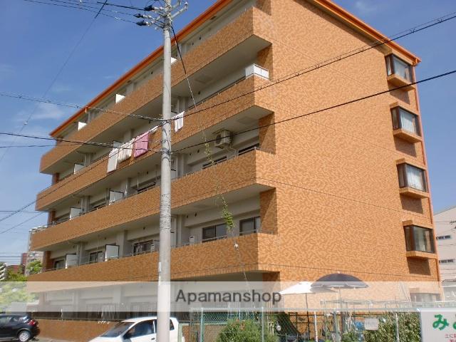 大阪府大阪市住吉区、我孫子町駅徒歩18分の築27年 5階建の賃貸マンション