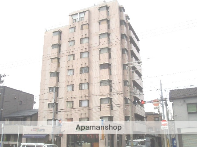 大阪府大阪市住吉区、姫松駅徒歩10分の築28年 9階建の賃貸マンション
