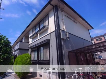 大阪府四條畷市、東寝屋川駅徒歩25分の築22年 2階建の賃貸アパート