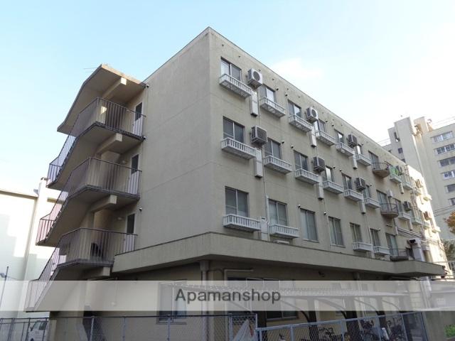 大阪府豊中市、山田駅徒歩18分の築43年 4階建の賃貸マンション