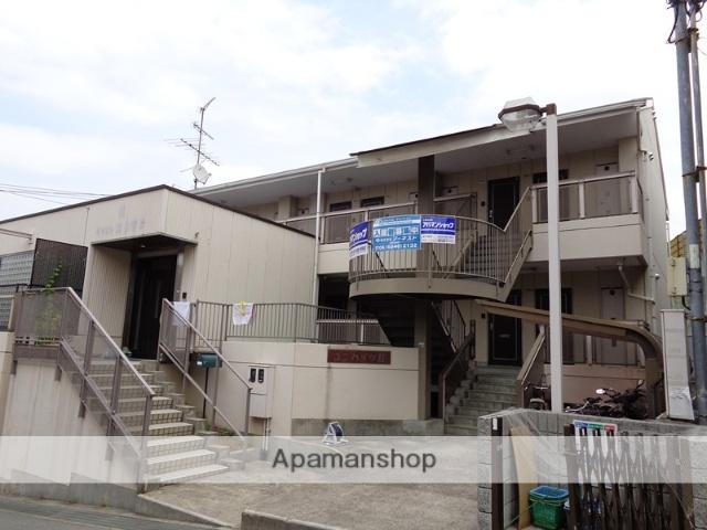大阪府箕面市、北千里駅徒歩31分の築23年 2階建の賃貸アパート