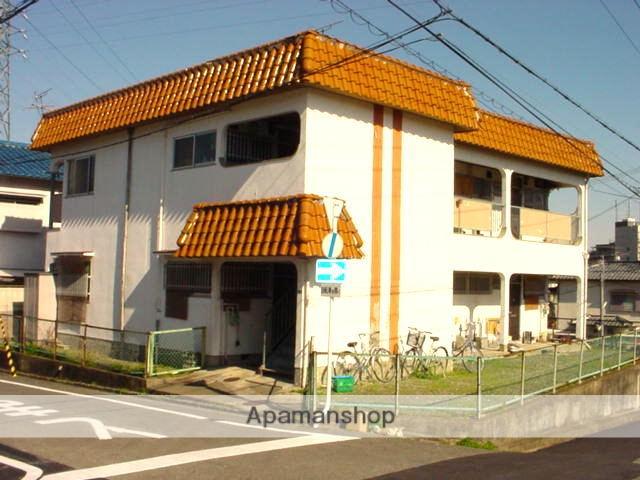 大阪府箕面市、北千里駅阪急バスバス15分バス停下車後徒歩5分の築40年 2階建の賃貸アパート