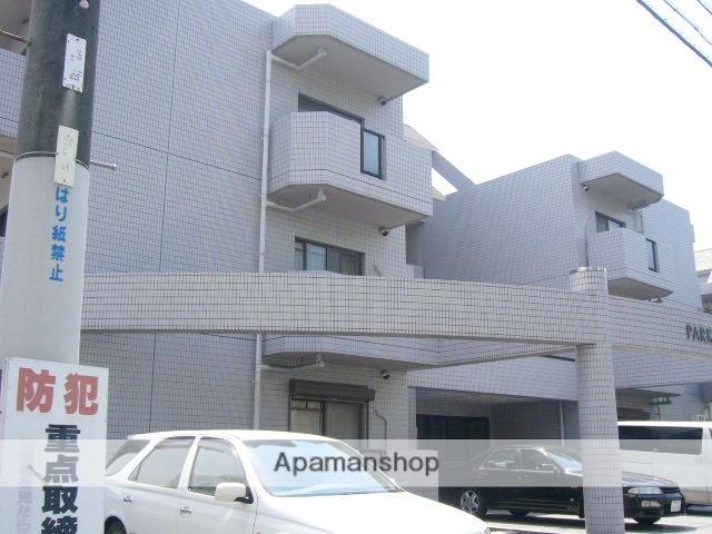 大阪府茨木市、公園東口駅徒歩23分の築23年 3階建の賃貸マンション