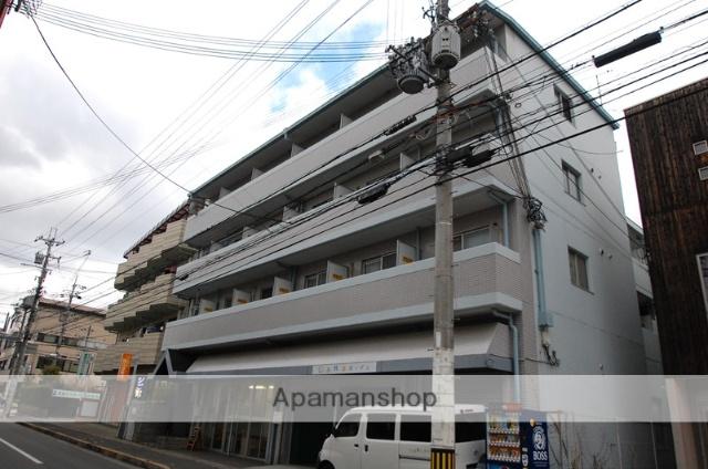 大阪府箕面市、牧落駅徒歩17分の築28年 4階建の賃貸マンション