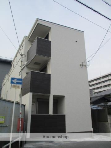 大阪府門真市、古川橋駅徒歩12分の新築 3階建の賃貸アパート