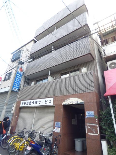 大阪府大阪市生野区、今里駅徒歩12分の築27年 5階建の賃貸マンション