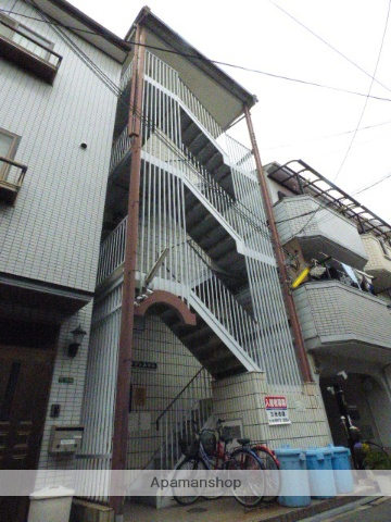 大阪府大阪市生野区、桃谷駅徒歩13分の築28年 5階建の賃貸マンション