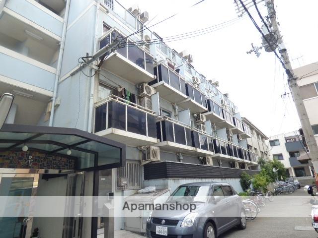 大阪府大阪市生野区、桃谷駅徒歩10分の築28年 4階建の賃貸マンション