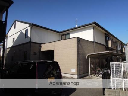 大阪府岸和田市、下松駅徒歩19分の築17年 2階建の賃貸アパート