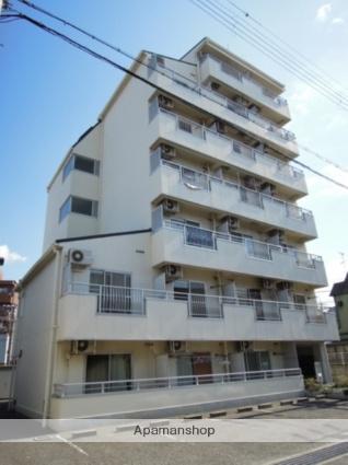 大阪府岸和田市、久米田駅徒歩4分の築24年 7階建の賃貸マンション