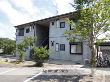大阪府岸和田市、久米田駅バス15分岡山下車後徒歩2分の築23年 2階建の賃貸アパート