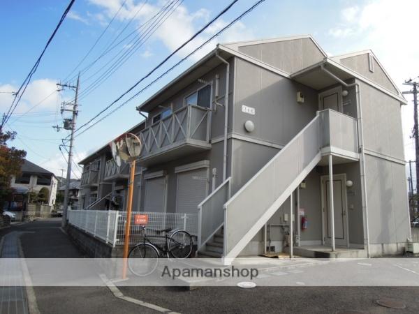 大阪府貝塚市、三ツ松駅徒歩24分の築19年 2階建の賃貸アパート