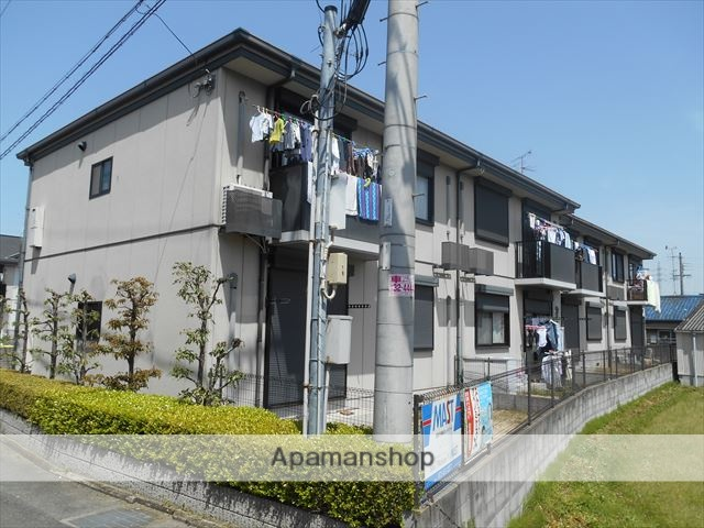 大阪府貝塚市、東貝塚駅徒歩6分の築19年 2階建の賃貸アパート
