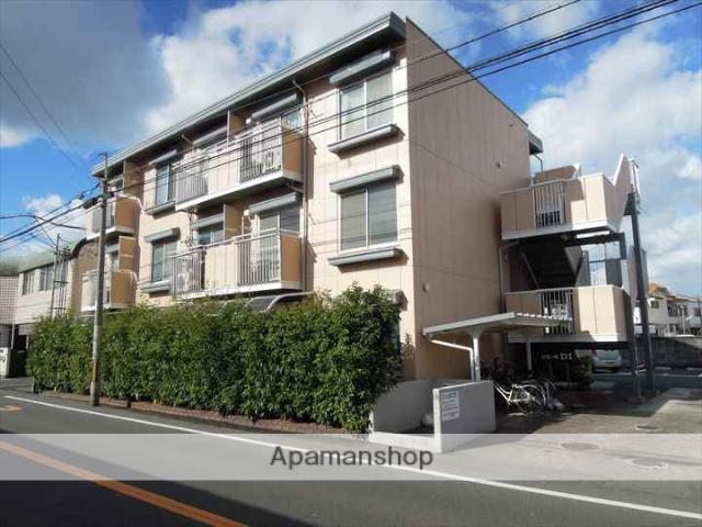 大阪府岸和田市、下松駅徒歩20分の築30年 3階建の賃貸アパート