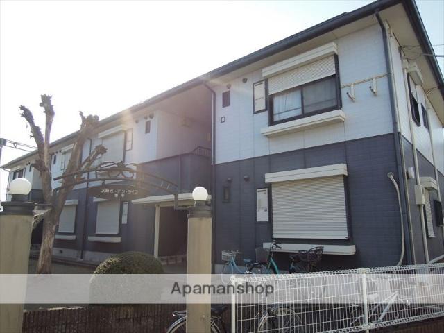 大阪府岸和田市、久米田駅徒歩8分の築22年 2階建の賃貸アパート
