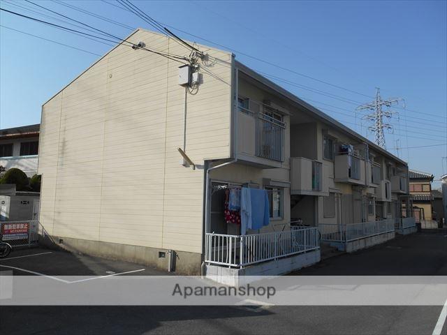大阪府貝塚市、貝塚市役所前駅徒歩8分の築30年 2階建の賃貸アパート