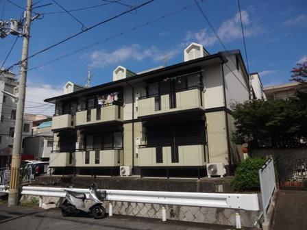 兵庫県神戸市東灘区、御影駅徒歩11分の築21年 2階建の賃貸アパート