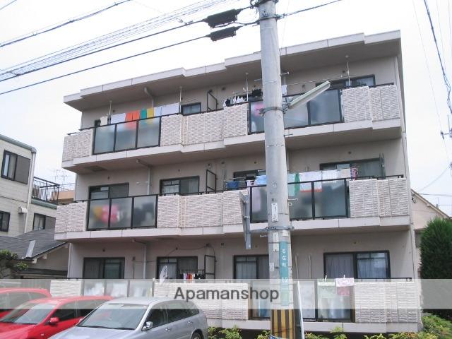 兵庫県西宮市、西宮駅徒歩17分の築19年 3階建の賃貸マンション