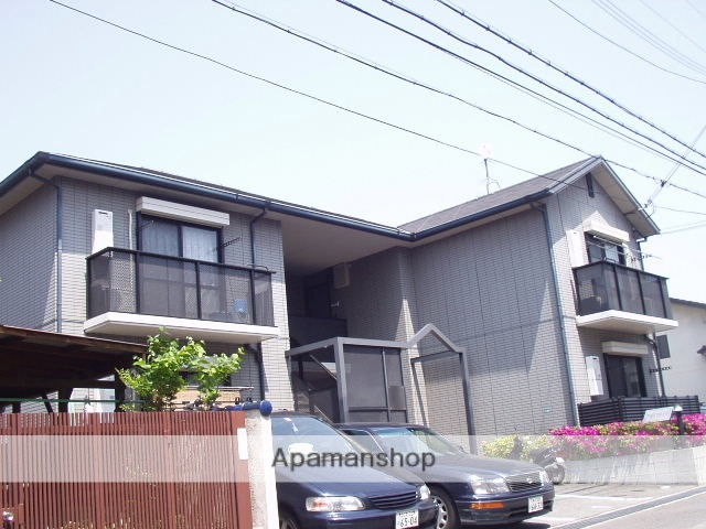 兵庫県西宮市、甲子園口駅徒歩7分の築20年 2階建の賃貸アパート