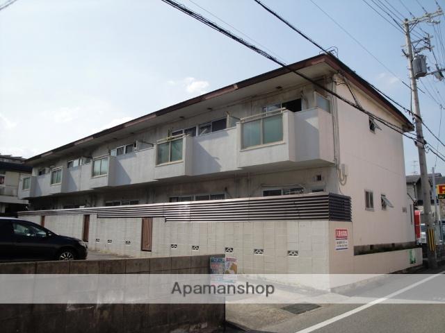 兵庫県西宮市、西宮駅徒歩17分の築33年 2階建の賃貸アパート