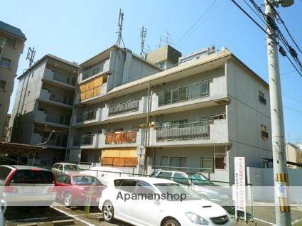 兵庫県西宮市、夙川駅徒歩19分の築42年 5階建の賃貸マンション