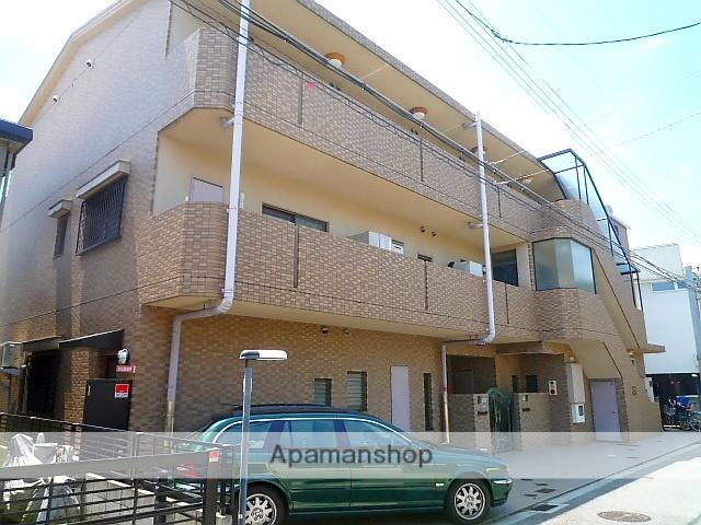 兵庫県西宮市、夙川駅徒歩15分の築20年 3階建の賃貸マンション