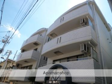 兵庫県神戸市東灘区、甲南山手駅徒歩5分の築27年 5階建の賃貸マンション